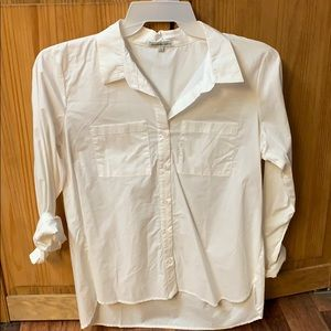 NWT Charlotte Russe white button up shirt